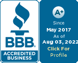 Fortified Pest is BBB Accredited - Badge